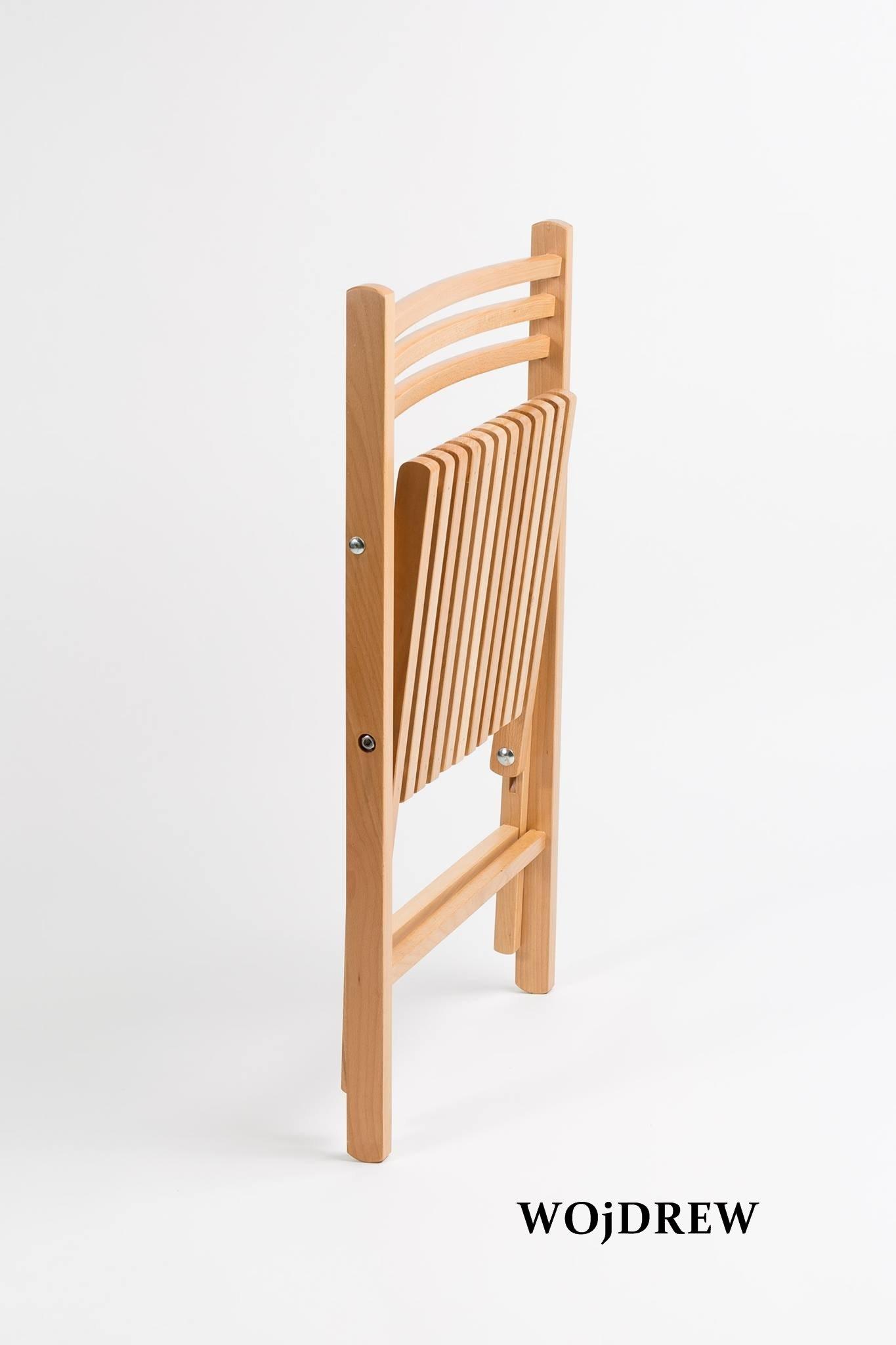Unikalne Krzesło składane OLA II (00225) - Krzesła składane - WOjDREW BW57